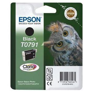 CARTOUCHE IMPRIMANTE Epson T0791 Chouette Cartouche d'encre Noir x1