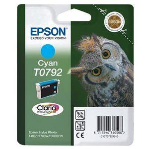 CARTOUCHE IMPRIMANTE Epson T0792 Chouette Cartouche d'encre Cyan