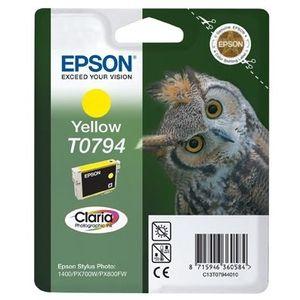 CARTOUCHE IMPRIMANTE Epson T0794 Cartouche d'encre Jaune