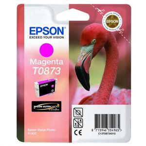 CARTOUCHE IMPRIMANTE Epson T0873 Flamant rose Cartouche d'encre Magenta