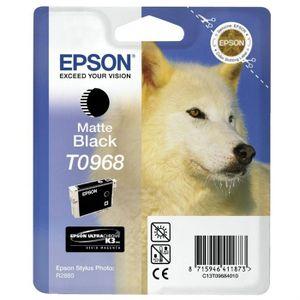 CARTOUCHE IMPRIMANTE Epson T0968 Husky Cartouche d'encre Noir mat