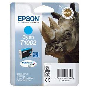 CARTOUCHE IMPRIMANTE Epson T1002 Rhinocéros Cartouche d'encre Cyan