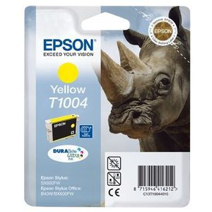 CARTOUCHE IMPRIMANTE Epson T1004 Rhinocéros Cartouche d'encre Jaune
