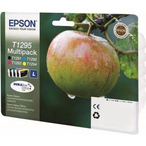 CARTOUCHE IMPRIMANTE Epson T1295 Pomme Cartouches d'encre Multipack Cou