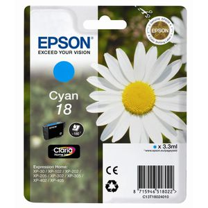 CARTOUCHE IMPRIMANTE EPSON Cartouche T1802 Fleur - Cyan