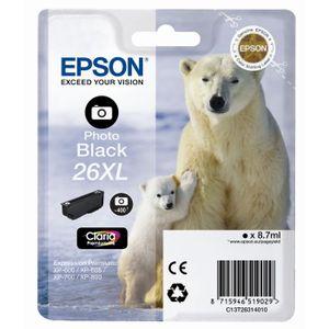 CARTOUCHE IMPRIMANTE Epson T2631 XL Ours Polaire Cartouche d'encre Noir