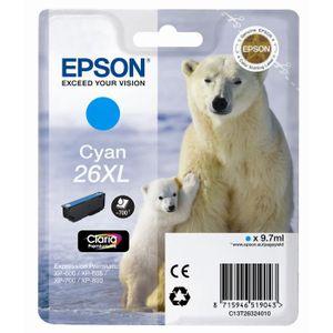 CARTOUCHE IMPRIMANTE Epson T2632 XL Ours Polaire Cartouche d'encre Cyan