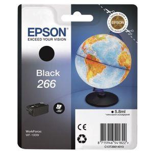 CARTOUCHE IMPRIMANTE Singlepack Black Cartouche EPSON T266 Noire Globe