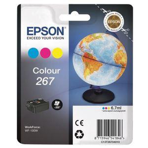 CARTOUCHE IMPRIMANTE Epson Cartouche monobloc 3 couleurs Globe 267
