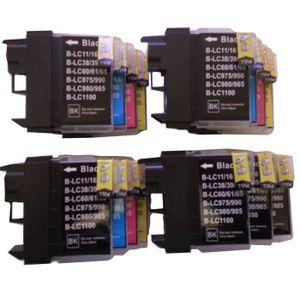 CARTOUCHE IMPRIMANTE 15 XL ColourDirect Cartouche D'encres LC1100 LC985