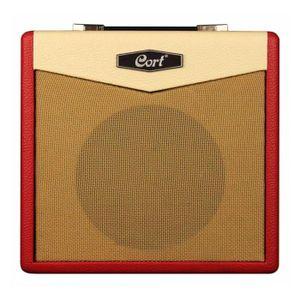 AMPLIFICATEUR Cort CM15RDR - Ampli guitare électrique rouge - 15