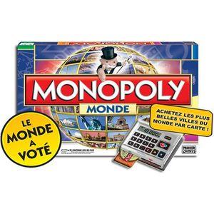 JEU SOCIÉTÉ - PLATEAU MONOPOLY Monde Electronique