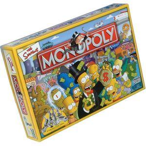JEU SOCIÉTÉ - PLATEAU Monopoly Simpson