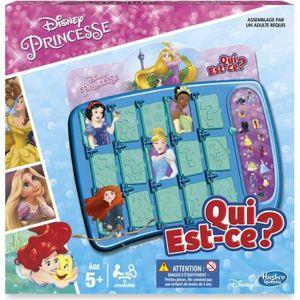 JEU SOCIÉTÉ - PLATEAU Qui Est-Ce ? Disney Princesses - Jeu de société de