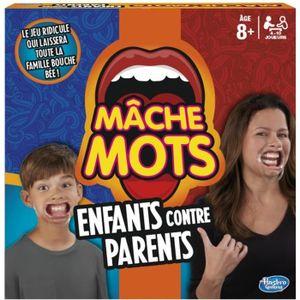 JEU SOCIÉTÉ - PLATEAU Mâche-Mots Enfants Contre Parents - Jeu de société