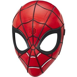 MASQUE - DÉCOR VISAGE SPIDERMAN - Masque Electronique