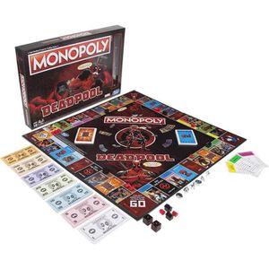JEU SOCIÉTÉ - PLATEAU Monopoly Deadpool Marvel Heroes - Jeu de société -