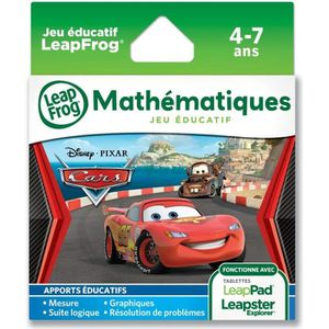 JEU CONSOLE EDUCATIVE CARS 2 Explorer Jeu LeapPad LeapFrog