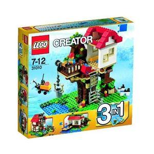 ASSEMBLAGE CONSTRUCTION LEGO Creator 31010 La Cabane dans l'Arbre