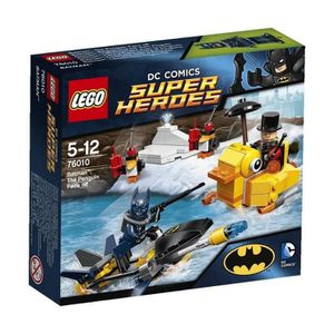 ASSEMBLAGE CONSTRUCTION LEGO Heroes 76010 Batman Affrontement Pingouin