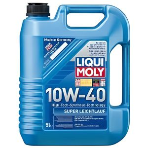 liqui moly super leichtlauf 10w40 5l achat vente huile moteur liqui moly super leichtlauf. Black Bedroom Furniture Sets. Home Design Ideas