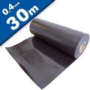 AIMANTS - MAGNETS Feuille magnétique Caoutchouc aimanté brun naturel