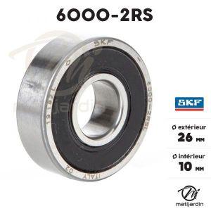 -Accessoire Vélo Roulement de roue 6000 2rs qualite made in japan 26x10x8
