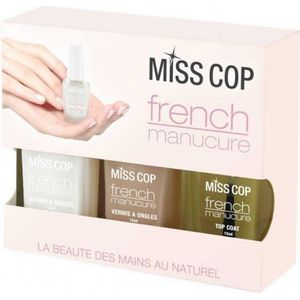VERNIS A ONGLES MISS COP - Kit French ManucureMiss Cop