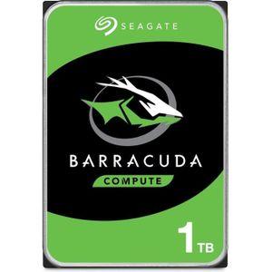 DISQUE DUR INTERNE SEAGATE - Disque dur Interne HDD - BarraCuda - 1To