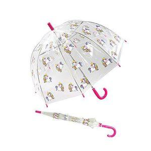 Parapluie transparent enfant fille poup/ées LOL Surprise Rose Diam/ètre 90cm
