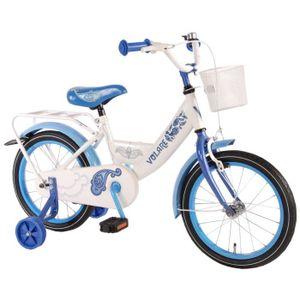 VÉLO ENFANT Vélo Paisley Enfant Fille 16 Pouce avec Roues de S
