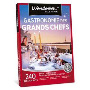 COFFRET GASTROMONIE Wonderbox - Coffret cadeau pour couple - Gastronom