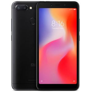 SMARTPHONE Xiaomi Redmi 6 Noir 3Go+64Go 5.45 Pouces Dual SIM