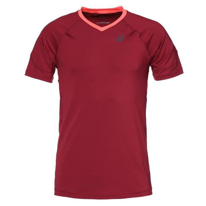 ASICS Stride Tee shirt manches courtes Homme - Rouge