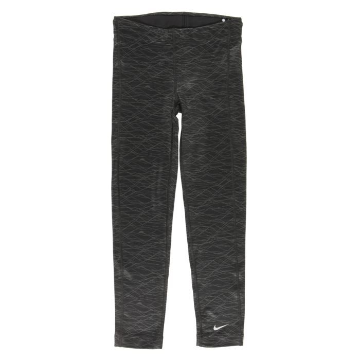 nike legging fille gris achat vente pantalon de. Black Bedroom Furniture Sets. Home Design Ideas