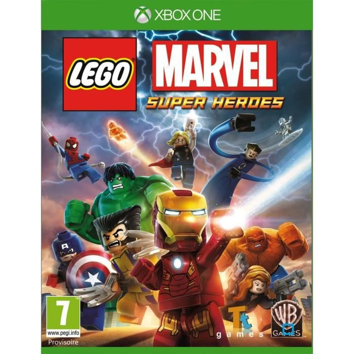 Lego Marvel Super HerŒs Jeu XBOX One