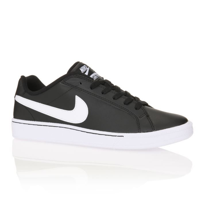 nike baskets en cuir court majestic homme