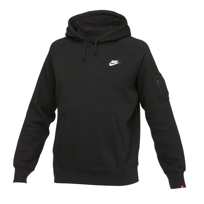 nike sweat capuche homme noir achat vente sweatshirt soldes d t cdiscount. Black Bedroom Furniture Sets. Home Design Ideas