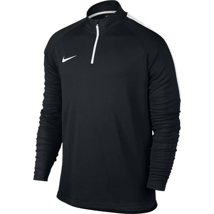NIKE T-shirt de football Academy Training ML - Homme - Noir