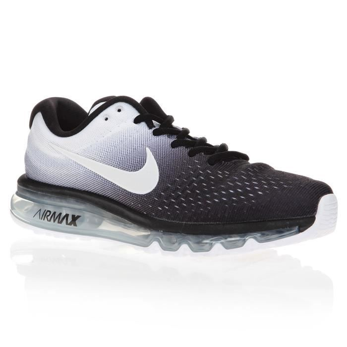 nike chaussures de running air max 2017 homme prix pas cher cdiscount. Black Bedroom Furniture Sets. Home Design Ideas