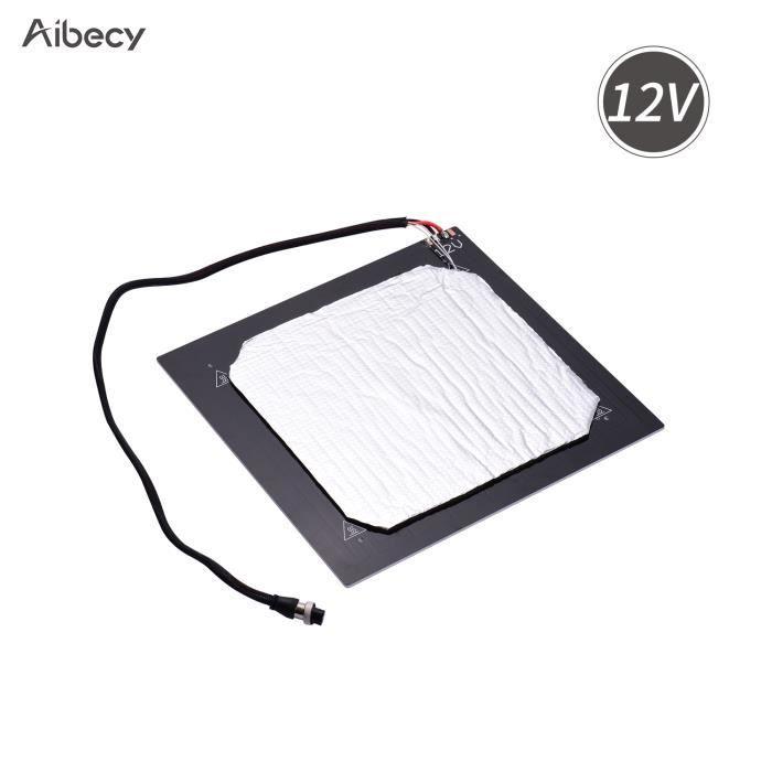 Aibecy 12V Imprimante 3D Plate-forme chauffante pour lit...