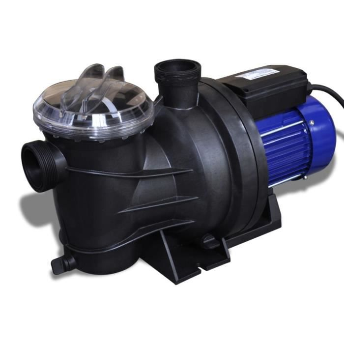 Pompe électrique de piscine 800 W, 230 V Bleu HB015 -PAI