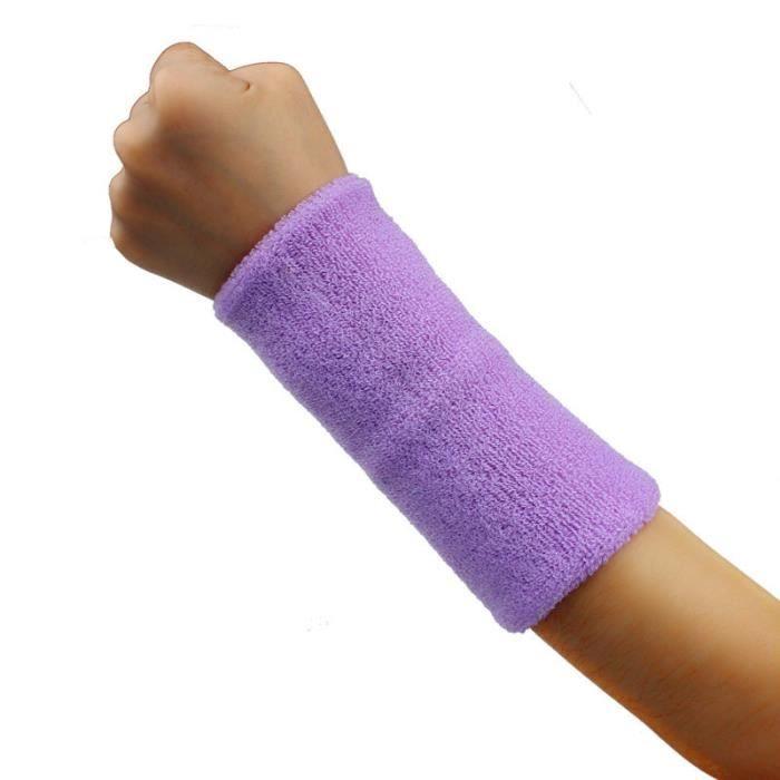 KIT PROTECTION Bande de sueur Bandeau de poignet Bande de bras Basketball Tennis Gym Yoga L PP ke018