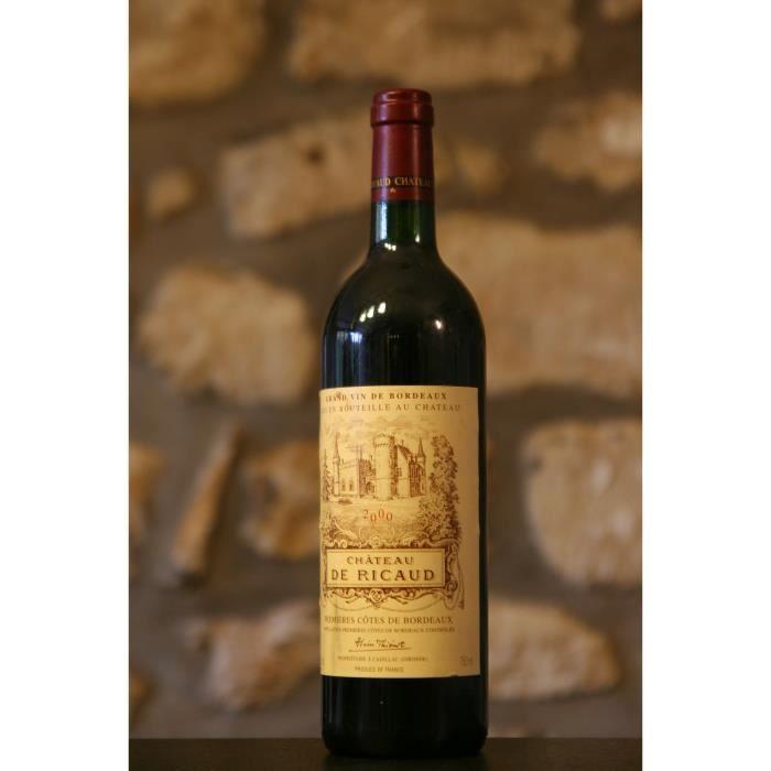 Vin rouge, Château de Ricaud 2000 Rouge