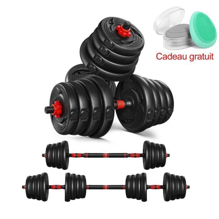 Kit Haltère réglable - 30kg les haltères musculation