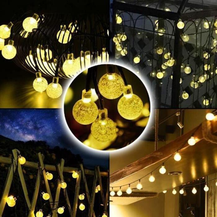 30 LED lumière solaire extérieure-ampoule-jardinr LED solaire étanche LED chaîne lampe fée bande chambre l - MITYNDB01324