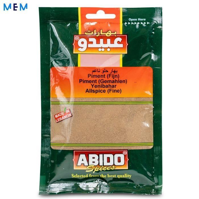 Piment de la Jamaique 50 gr ABIDO