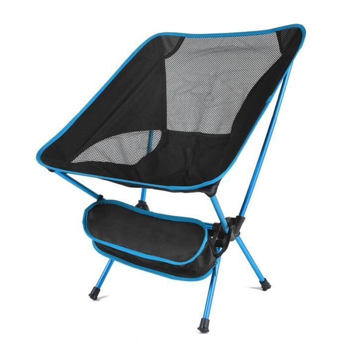 Chaise pliante ultralégère pour Camping, pêche, pique-nique, barbecue, randonnée, outils de plein air, voyage, plage [926C153]