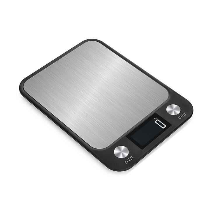 MC2987 Offre spéciale échelle numérique en acier inoxydable échelle électrique haute précision alimentaire cuisson échelle LCD rét