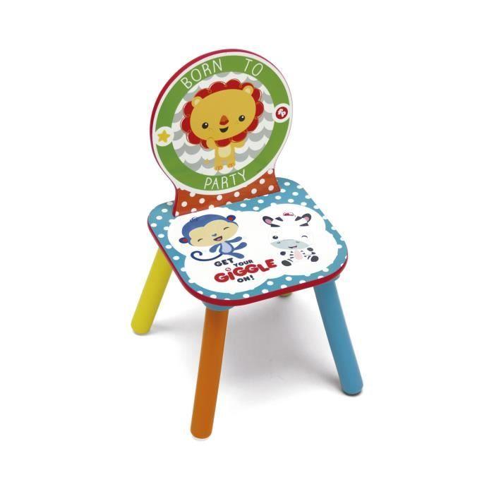 FISHER PRICE - Chaise en bois enfant